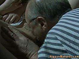 Japanese Asian Mature Gets Oralsex From Older Man