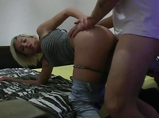 Playgirl Delights Dude With Her Shlong Riding
