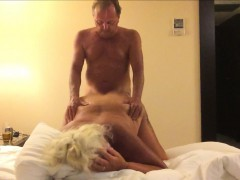 Mature Couple Creating Their First Sex Tape