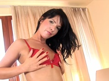 Awesome Lady Playthings Together Together With Her Pee Dampened Vulva